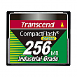 Transcend 256MB 200X Industrial Temp CF200I CompactFlash Card - TS256MCF200I