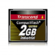 Transcend 2GB 100X Industrial Temp CF100I PIO Mode CompactFlash Card - TS2GCF100I-P