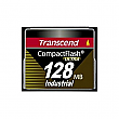 Transcend 128MB 100X Industrial Temp CF100I PIO Mode CompactFlash Card - TS128MCF100I-P
