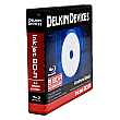 Delkin Devices 5 Pack BD-R Archival Gold Blu-Ray 25GB 6X Inkjet Printable Discs Binder - DDBD-R-I/5 BIND 6X