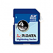 RiDATA 4GB Lightning Series Class 2 SDHC Card - RDSDHC4G-LIG2
