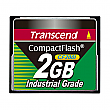 Transcend 2GB 200X Industrial Temp CF200I CompactFlash Card - TS2GCF200I
