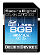 Delkin 8GB 633X ELITE633 UHS-1 SDHC Flash Memory Card - DDSDELITE633-8GB