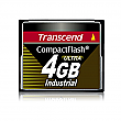 Transcend 4GB 100X Industrial Temp CF100I PIO Mode CompactFlash Card - TS4GCF100I-P