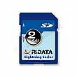 RiDATA 2GB Lightning Series 60X Secure Digital SD Card - RDSDHC2G-LIG2