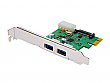 Transcend PDU3 USB 3.0 Expansion Card PCI Express Adapter for Desktops - TS-PDU3